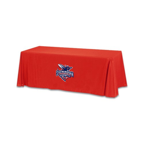 Shenandoah Red 6 foot Table Throw 'Official Logo' by CollegeFanGear