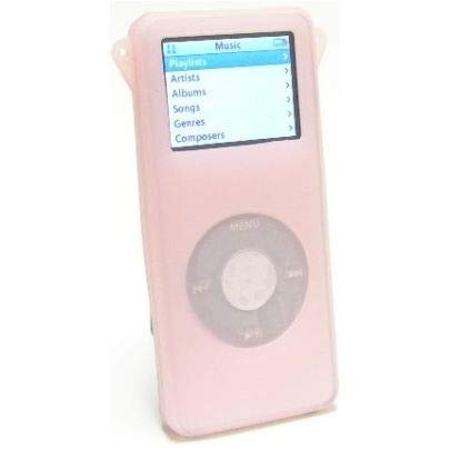 - HD Accessory Silicone Skin Cover for 1st Generation iPod Nano - Pink