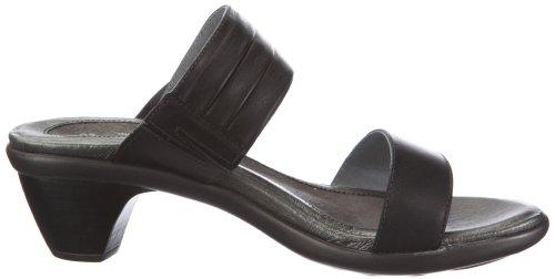 Wedge Black Raven Sandal Leather Isis NAOT Women w0paEE
