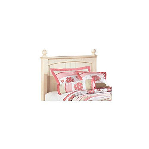 Signature Design by Ashley B213-52N Cottage Retreat Collection Poster Headboard, Twin, Cream (Cottage Retreat Bedroom)