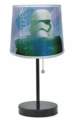 [Disney Star Wars Stormtroopers Table Lamp, Black, 20