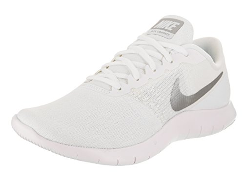 537c15b8779d Galleon - NIKE Flex Contact Sz 6.5 Womens Running White Metallic  Silver-Glacier Blue-White Shoes