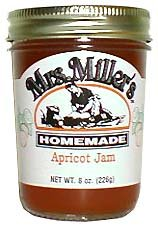 Apricot Jam: 3 jars Mrs Miller Homemade by Mrs Millers Homemade
