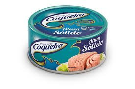 Price comparison product image Coqueiro Atum Solido em Oleo (Tuna Solid Pack in Oil) Easy Open Can 170g