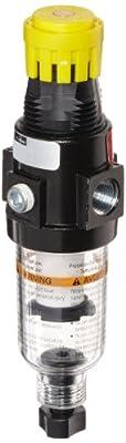 Parker 14E Miniature Series Compressed Air Filter/Regulator, Relieving Type, NPT