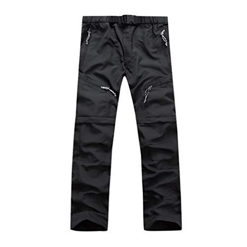 (Muramba Clearance Men Outdoor Thin Detachable Quick Dry Waterproof Pants)