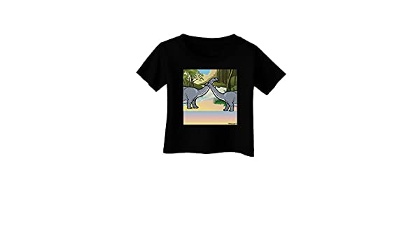 TooLoud Diplodocus Longus Without Name Infant T-Shirt Dark
