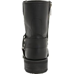Harley-Davidson Men's El Paso Riding Boot,Black,11.5 W US