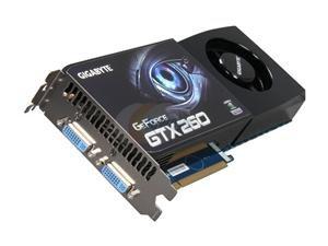 GIGABYTE GV N26UD 896M GIGABYTE GV-N26UD-896M GeForce GTX 260 896MB 448-Bit GDDR3 PCI Express