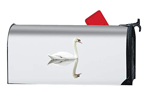 - BABBY The Beautiful White Swan Mailbox Cover Standard
