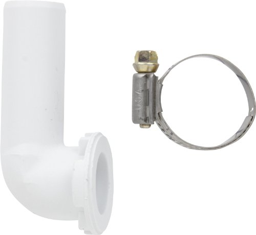 Washer Siphon - Whirlpool 208847 Siphon Elbow & Clamp