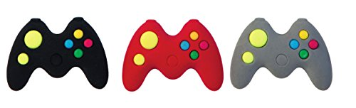 Raymond Geddes Game Controller Erasers, Set of 24 (69755) by Raymond Geddes
