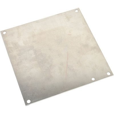 Hoffman A8P6AL Conductive Panels for JIC Enclosure, Steel/Aluminum, J Box/6.75 x 4.88, Fits 8 x 6 by - Enclosure Jic