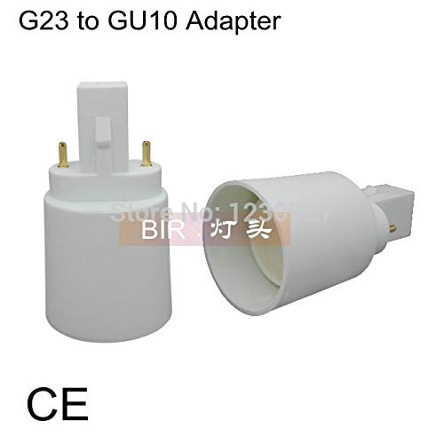 Halica G23 to GU10 Adapter GU10 to G23 Socket GU10 Base lamp holder converter
