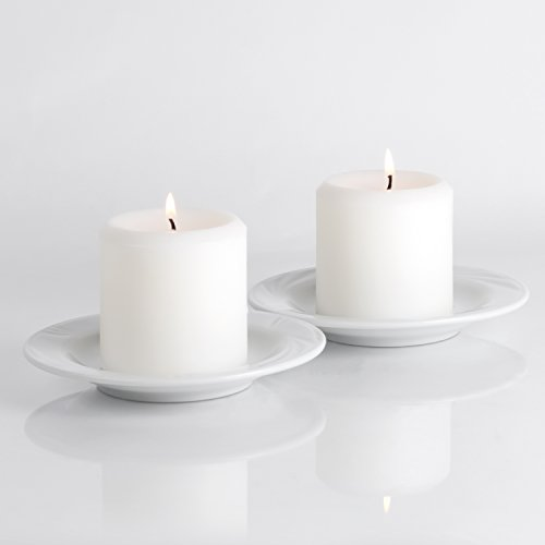 Pillar Candle (3 X 3 (2 Pack), White)