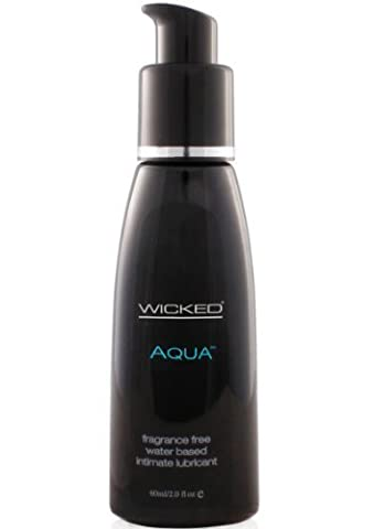 Wicked sensual care collection fragrance free 2 oz lubricant - aqua - waterbased by Sensual Care Collection