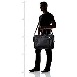 TOMMY HILFIGER COATED CANVAS DUFFLE Travel bags men Black Luggage