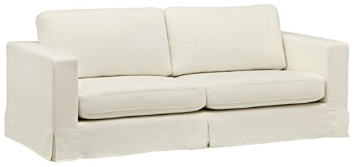 Stone & Beam Bryant Modern Sofa Couch with Slipcover, 85.1