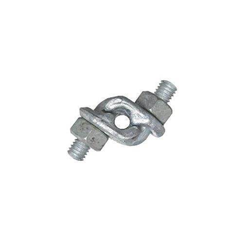 1/4' Galvanized Double Grip Cable Clamp Advantage Sales
