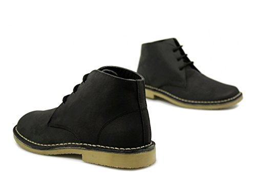 Roamer - Botas de cuero para hombre negro negro negro - negro