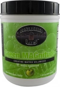 Green MAGnitude-Controlled Creatine Matrix Volumizer, 1.83 lb Apple by Controlled Labs