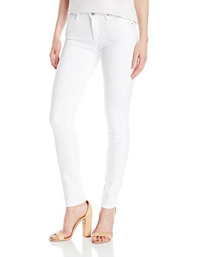 AG Adriano Goldschmied Women's Prima Mid-Rise Cigarette Jean, White, 26