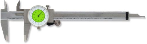 Oshlun MTDCF-06 6-Inch Stainless Steel Fractional Dial Caliper (Read Dial Caliper)