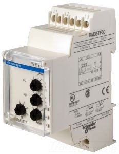 SCHNEIDER ELECTRIC RM35TF30 3-Phase Relay 250V 5 Amp Rm35 by Schneider Electric