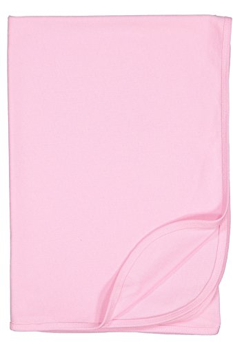 Rabbit Skins Infant 100% Cotton Premium Jersey Blanket (Pink, One Size Fits All)