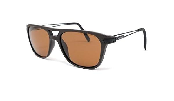 ba4cf8622f Amazon.com  Serengeti Flex Coll. Empoli Sunglasses Frame 7917 Shiny Matte  Brown New  Clothing