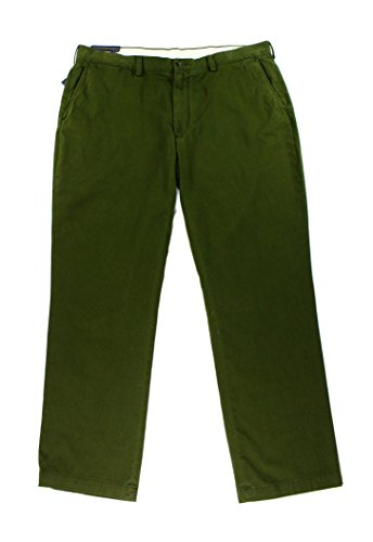 Polo Ralph Lauren Mens Bedford Slim Fit Classic Twill Chino Pants Green - Outlet Ralph Lauren Online