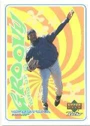 1eaf1b0a32 Amazon.com: 1998 Upper Deck Retro Groovy Kind of Glove Baseball Card ...
