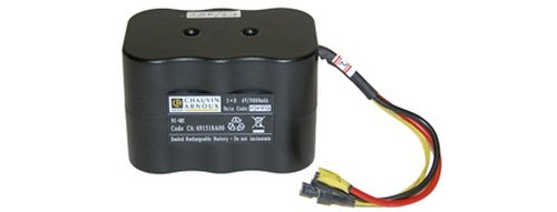 - AEMC 2129.91 NiMH 6.5V 8.5AH Replacement Battery for Micro-Ohmmeter