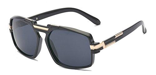 ALWAYSUV Vintage Square Sunglasses Non-Polarized Sunglasses for Women Men 100% UV400 - Sunglasses Tinting