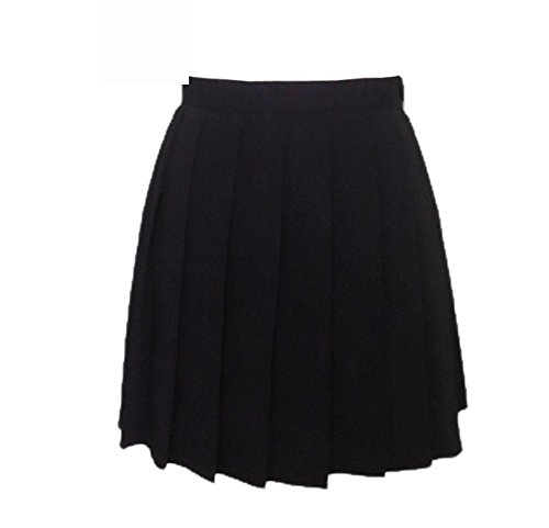 [Eault Elegant girls skirts pleated schoolgirls skirt uniforms cos macarons waist solid pleated skirt multicolor female] (60s Dress Up Ideas)
