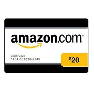 Amazon.com $20 Gift Card (0141) (B002OECSDM) | Amazon price tracker / tracking, Amazon price history charts, Amazon price watches, Amazon price drop alerts
