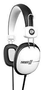 iFrogz EarPollution Throwbax II Headphones, White