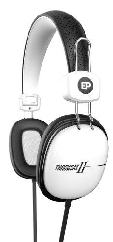iFrogz EarPollution Throwbax II Headphones, White