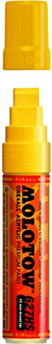 Molotow ONE4ALL Acrylic Paint Marker, 15mm, Zinc Yellow, 1 Each (627.201)