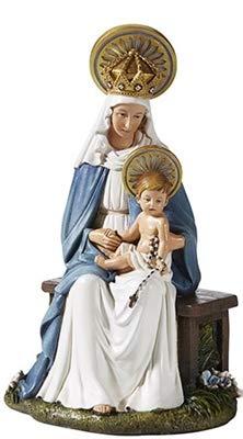 Woodington's Hummel Seated Madonna Child 6.5 Inch Statue -