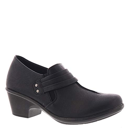 Easy Street Women's Graham Dress Casual Shootie Loafer, Black, 12 W US from Easy Street