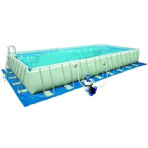 Intex 20 FT X 10 FT X 52 IN Deep Ultra Frame Pool