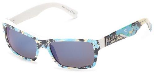VonZipper Fulton Square Sunglasses,Gnarr-waiian & Blue,One Size