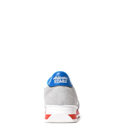Atlantische Sterren Herren Antarbbi35b Weiss Leder Hi Top Sneakers