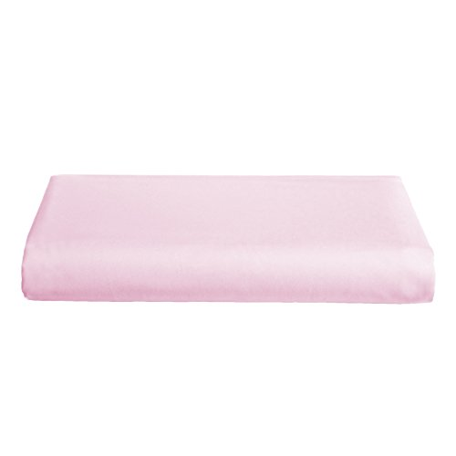 Babydoll Bedding Round Crib Poly/Cotton Sheet, Pink