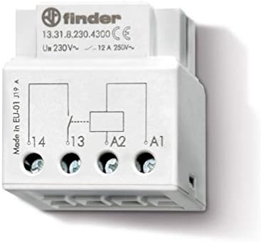 Finder serie 13 - Rele auxiliar 1 contacto 230v corriente alterna ...