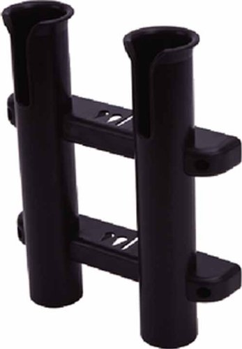 Sea Dog 325029-1 Two Pole Side Mount Rod Holder, (Side Mount Fishing Rod Holder)