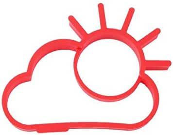 قالب بيضاوي على شكل فطائر البانكيك بقالب بيضة مقلي من السيليكون على شكل كعكة Sun Cloud WIDN033