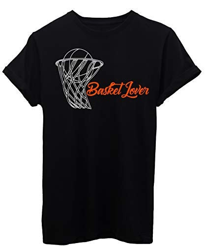 Image 1 T Basket shirt By Sport Lover Nera Pallacanestro rUrwOxF