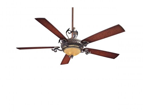 "Minka Aire F715-STW Napoli 68"" Ceiling Fan with Light & Wall"